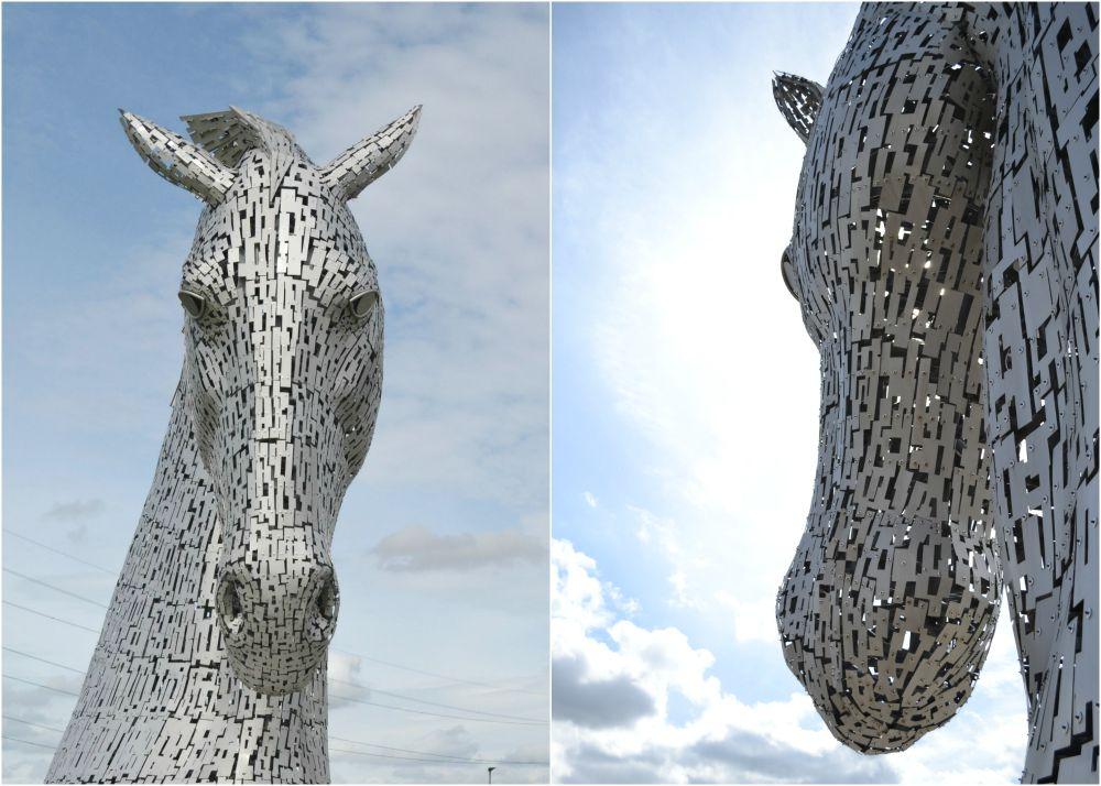 kelpies helix park sculptures falkirk