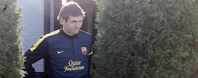 ¡Tito Vilanova regresa al trabajo!