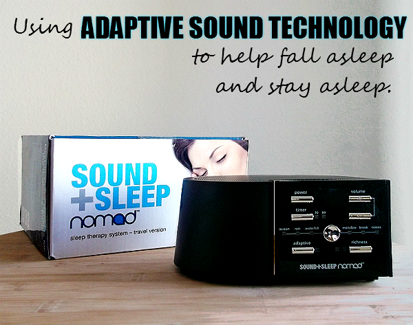 Adaptive Sleep Technology Nomad Sound and Sleep