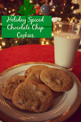 Holiday Spiced Chocolate Chip Cookie