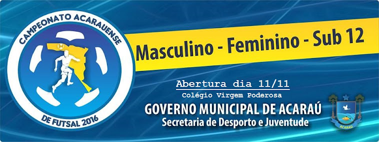 Campeonato Acarauense de Futsal