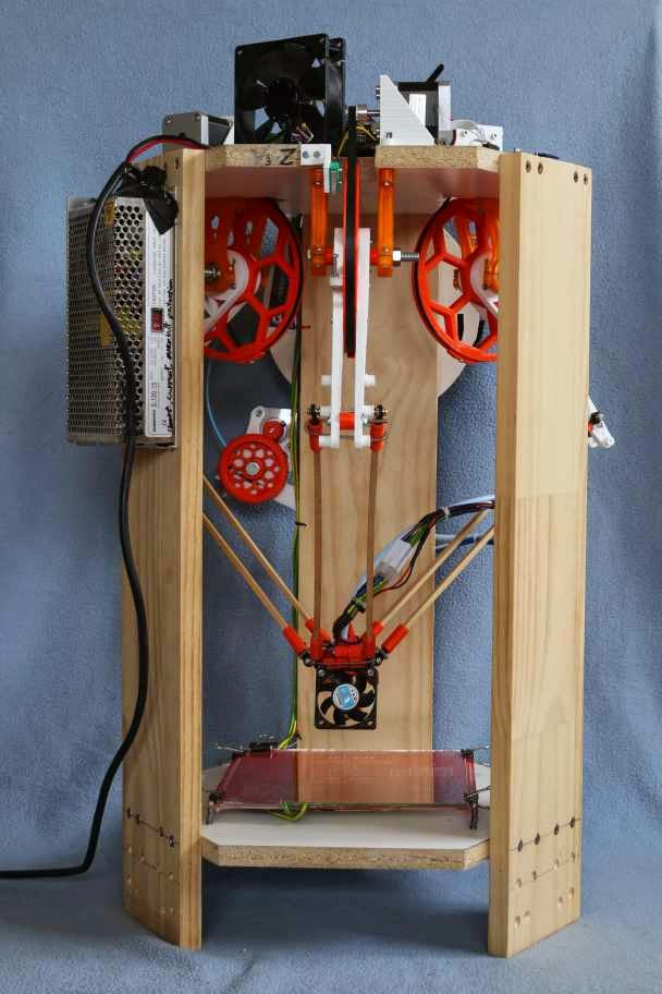 Diy 3d printing december 2014 for 3d printer build plans