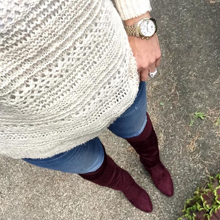ann taylor, ivanka trump, tall boots, skinny jeans, fall trends