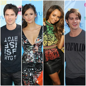 TVD Cast at Teen Choice 2013