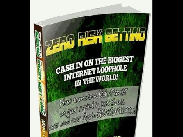 Risk free football betting system