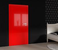 Błyszczące drzwi Interdoor. Okleina Glossa