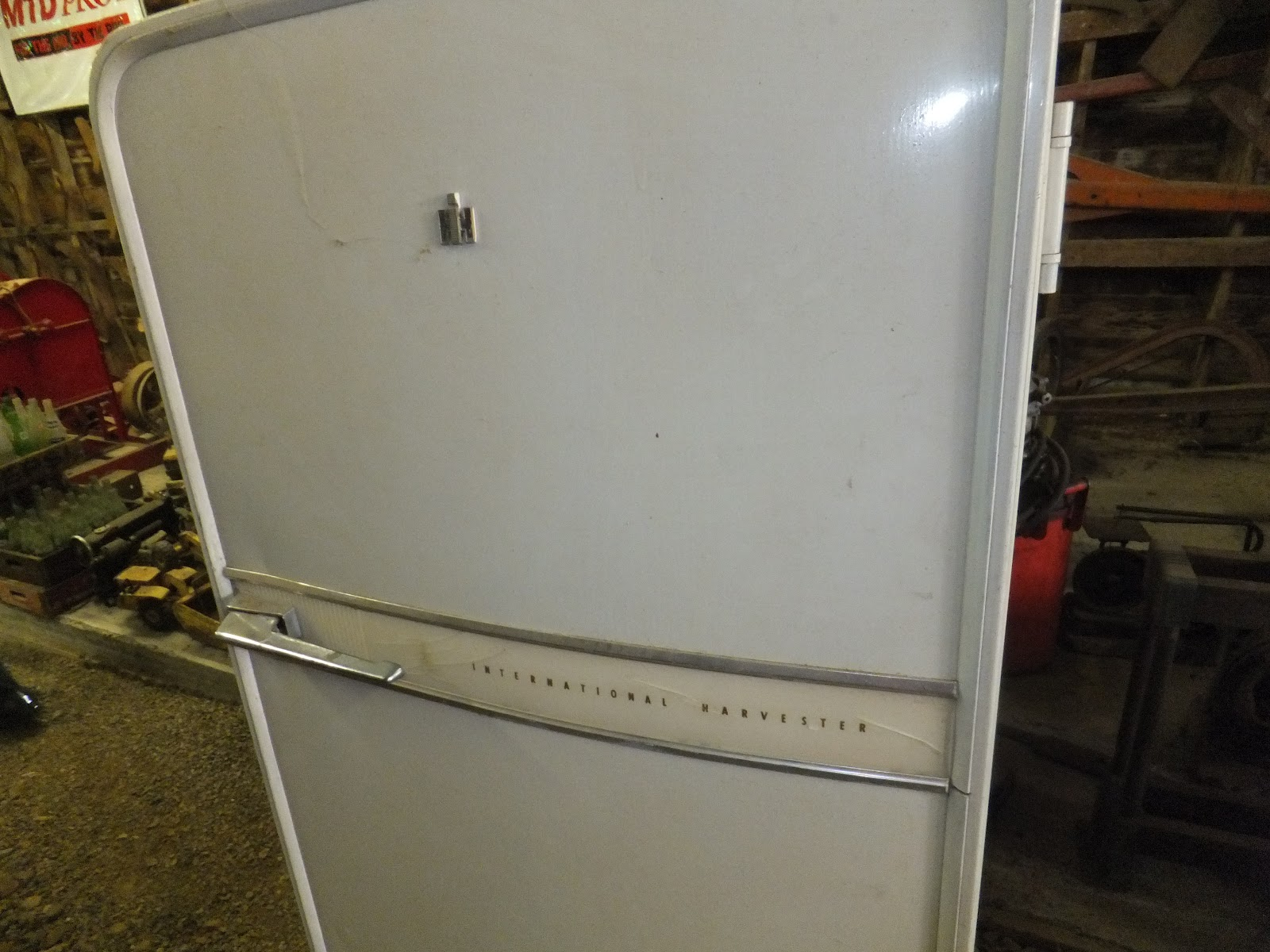 International Harvester Refrigerator : In a pastime paradise treasure unlikely places