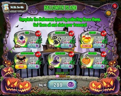 Ilha Halloween - Dicas e Informações
