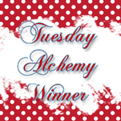 I won a challenge at Tuesday Alchemy