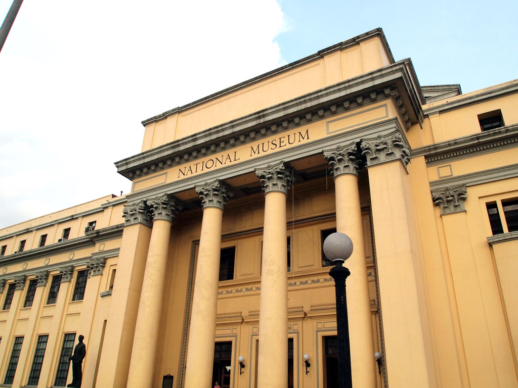Facade of the Old Congress Building, home of the National Museum. Source Image: Boarding Gate 101