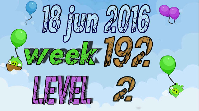 Angry Birds Friends Tournament level 2 Week 192