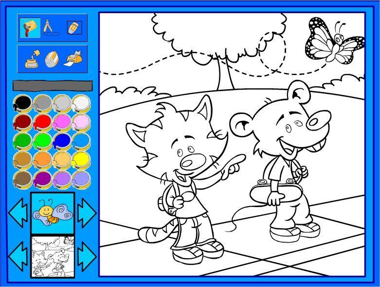 бесплатно малышей онлайн играть для игры раскраски