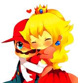 Mario Bros es el único hombre que cruza cielo, mar & tierra por su princesa. ♥