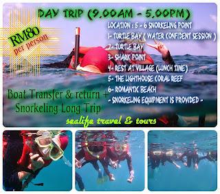 Pakej Perhentian - DAY TRIP