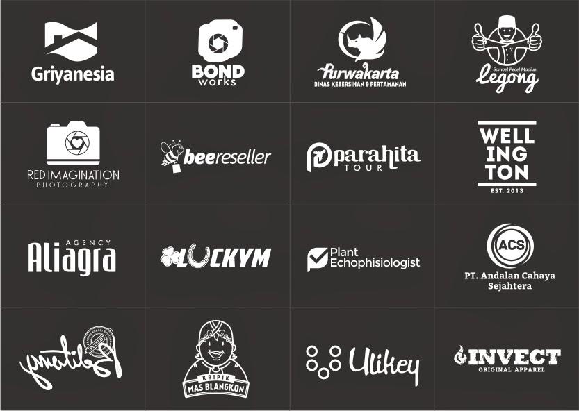 COntoh desain logo, desain logo, log, brand identity, merek