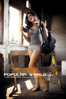 Laurenzia Arnes for Popular World Magazine, August 2012