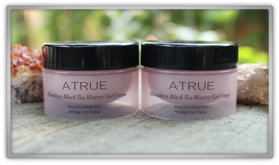 A·TRUE (에이트루) Korean Cosmetics Haul & Review Himalaya Black Tea Watery Gel Cream