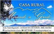 Casa Rural MIRANDO A GREDOS