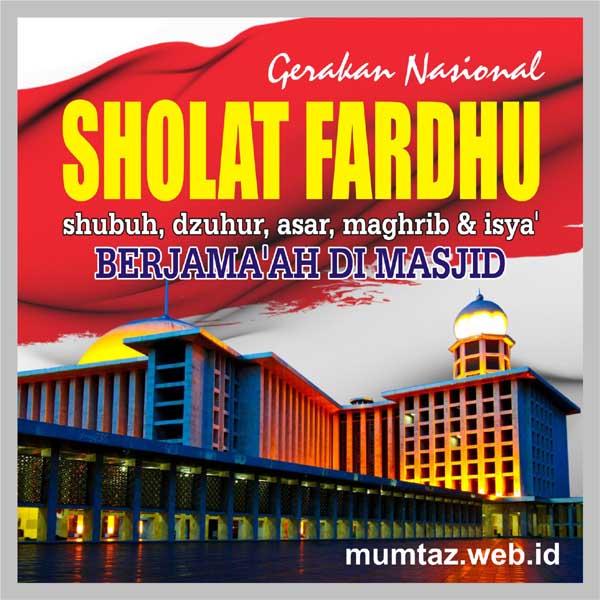 gerakan Nasional sholat berjamaah di masjid