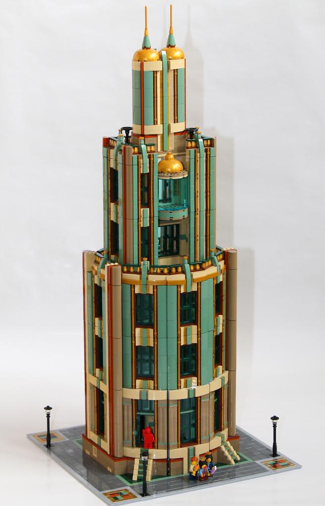 lego stark tower instructions