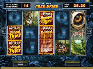 Untamed Bengal Tiger Free-Spins-Feature