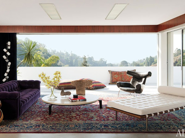La impresionante casa de Adam Levine