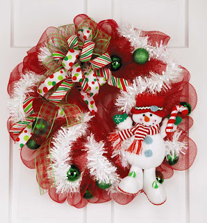 Deco Mesh Wreath Patterns