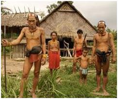 ola kebudayaan dari suatu masyarakat kadang tidak terlepas dari cara hidup atau sistem mat KEBUDAYAAN SUKU SAKAI DI KECAMATAN MANDAU