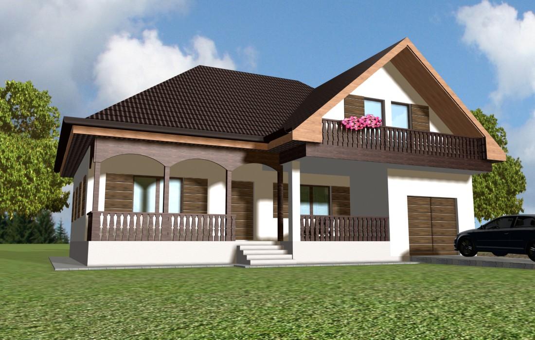 proiecte case parter cu garaj