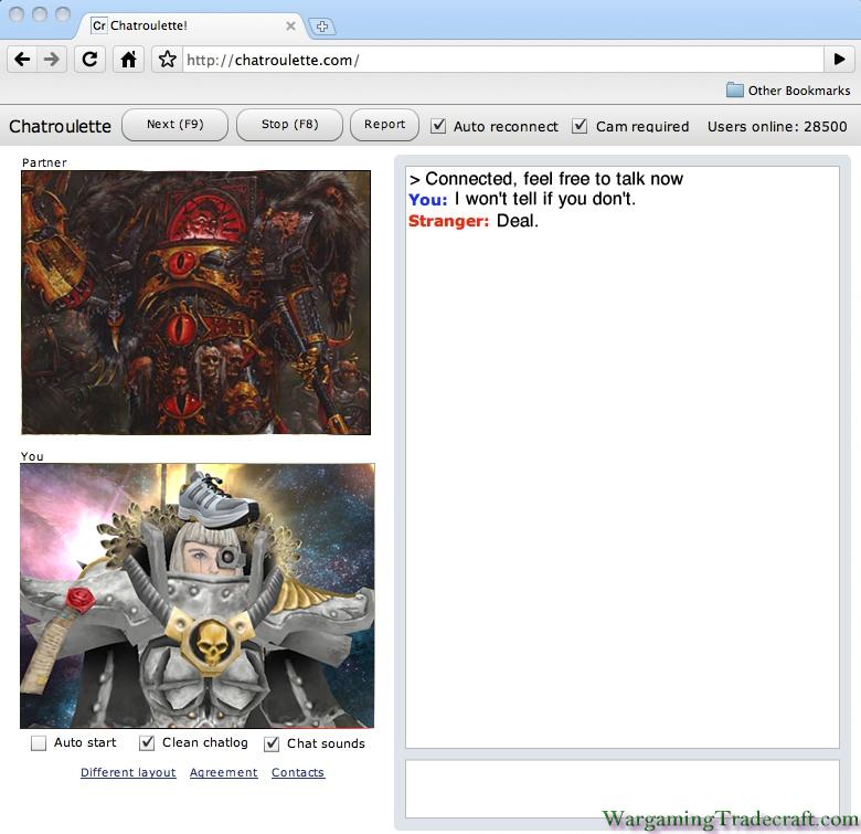 Wargaming Tradecraft: Warhammer 40,000 Memes