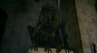 mama movie, 2013 horror, wild girls, scary children, guillermo del toro, scary woods
