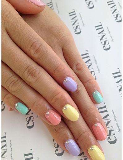 nail art nail 8 Desenhos de unhas Inspirados na Primavera