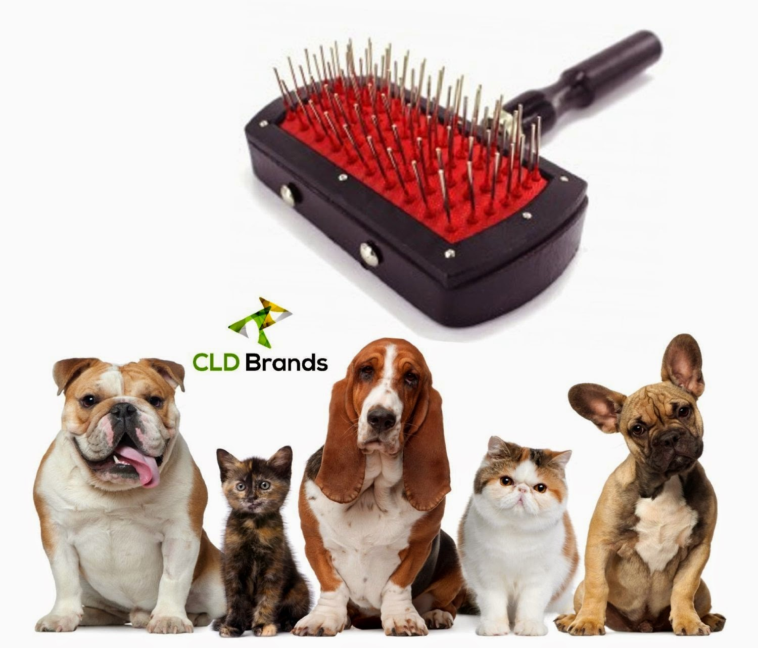 Deluxe Dog Pet Cat Grooming Brush