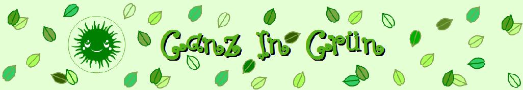 ganz in grün