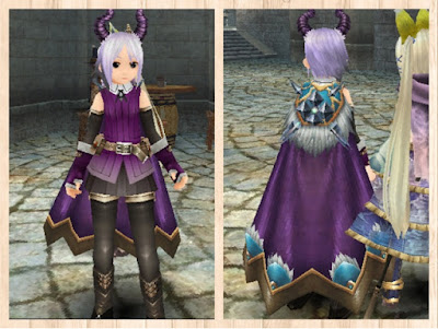 森狼のマント 紫1