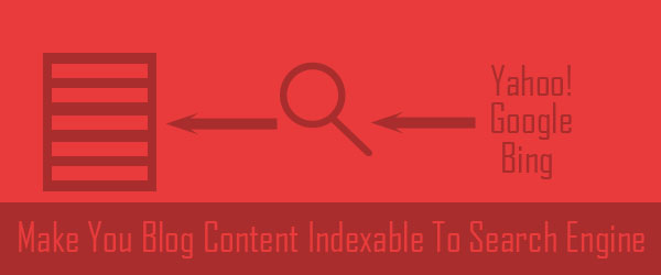 make your content indexable easy using Google Webmasters and schema.org