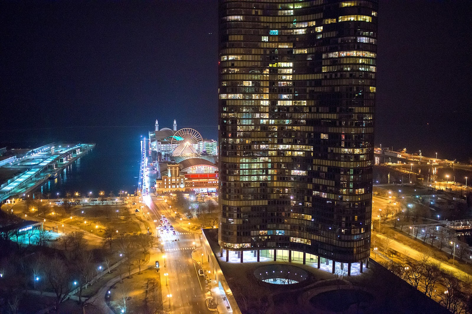 Navy Pier Night Photo
