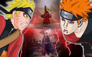 Gambar Naruto VS Pain