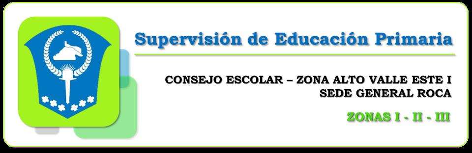 Supervisión de Educación Primaria AVE I