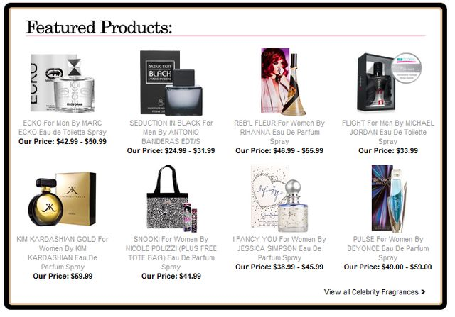 Perfume at Perfumania - Perfect Christmas Presents for Girls