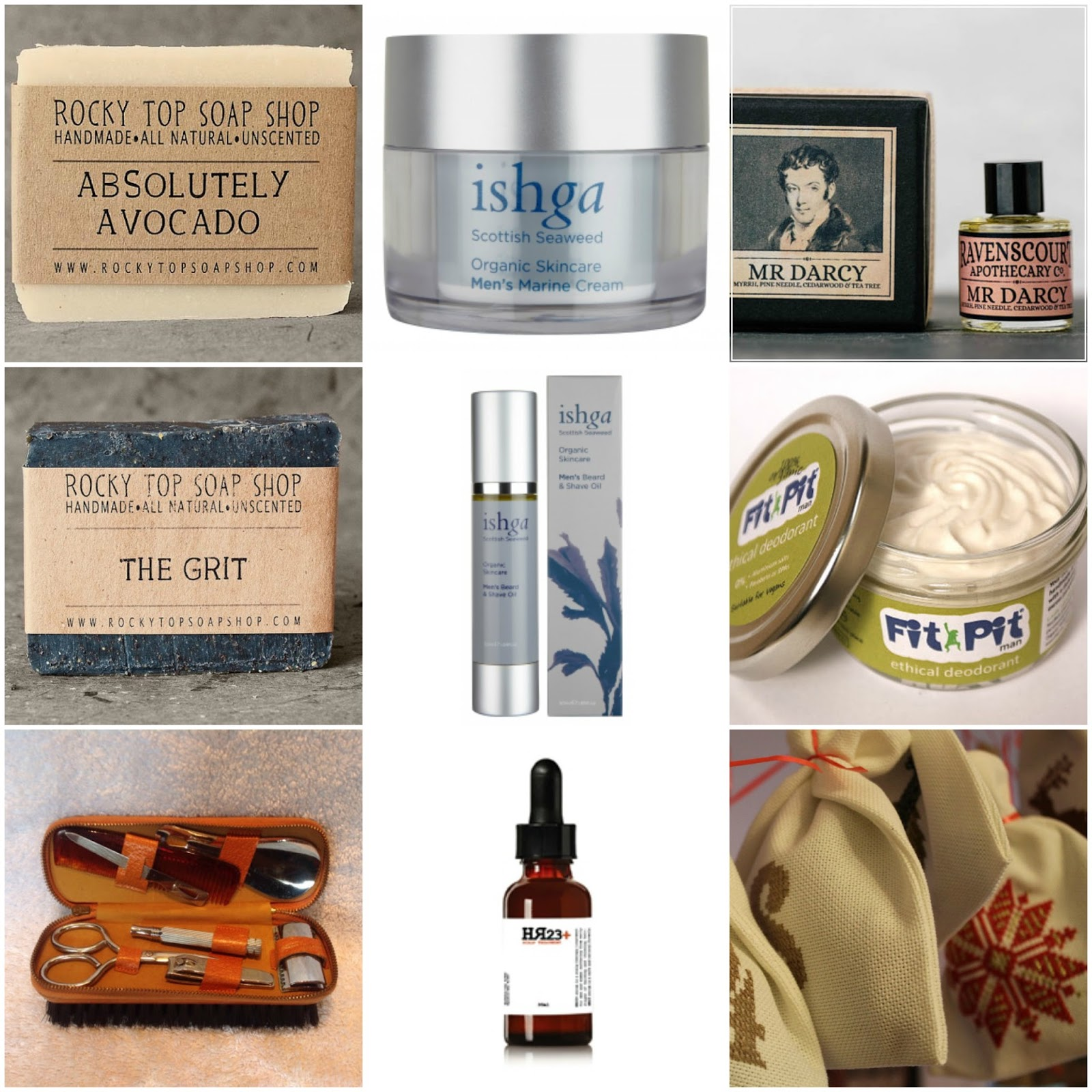 Eco and Organic Christmas Gift Ideas for Men | PAMPER POINT