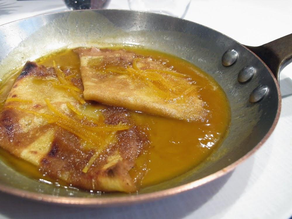 Crêpes Suzette - Restaurant Lazare