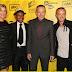 Imagens do elenco de Breaking Bad na apresentação da 4ª temporada