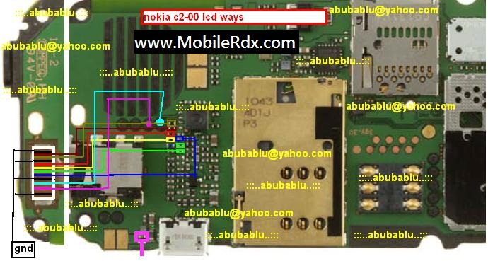 display solution nokia c2 00 lcd problem nokia c2 00 lcd not working