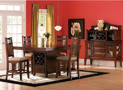 Raymour and flanigan dining room set