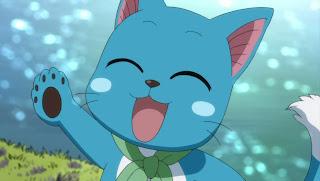 Quais são os teus Exceed favoritos? Happy+(Fairy+Tail)