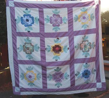 Rose Of Sharon Wedding Quilt