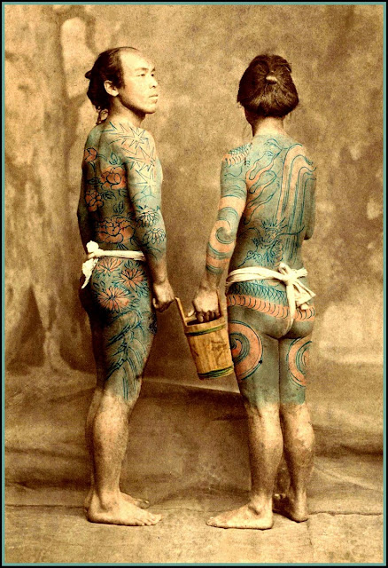 Old Japanese Tattoos