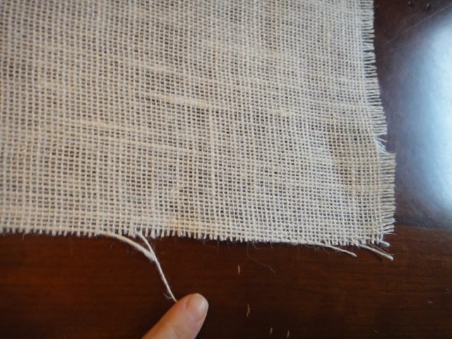 how to stop knit from unraveling