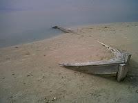 Haiku, barca varada
